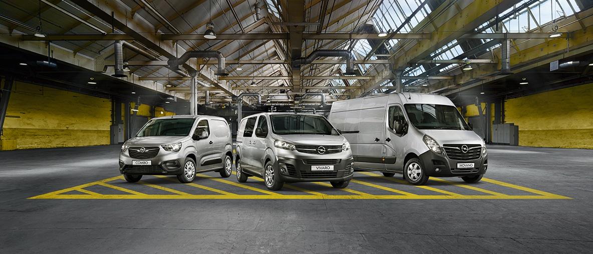 Opel laka komercijalna vozila